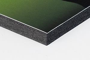 Fotos en cartón pluma negro